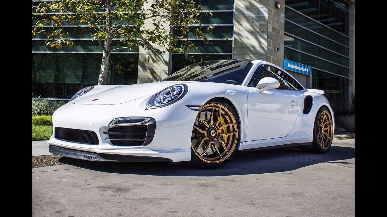 Porsche 996 Turbo >> Porsche 991 Turbo S on ADV.1 Wheels - YouTube