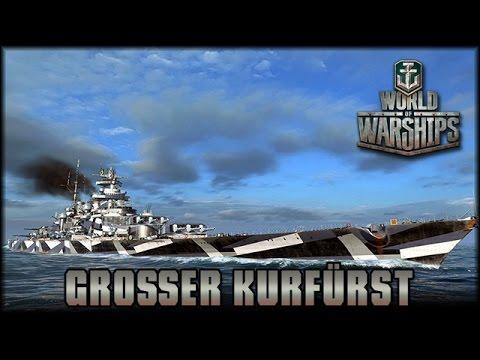 World of Warships - Großer Kurfürst im Einsatz [ deutsch | Gameplay ]