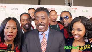 Ernie Hudson & cast of The Family Business Interview at Hollywood Christmas Parade