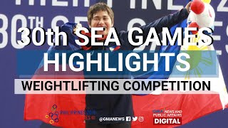 Sea Games 2019: Highlights: Hidilyn Diaz Wins Gold In Women's 55kg Competition | Weightlifting