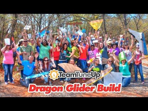 Team TuneUp Glider Build Team Building Activity