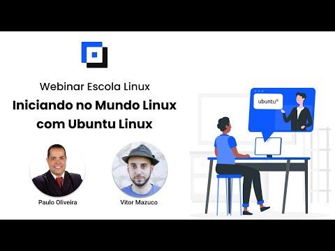 Hangout Online e Gratuito Escola Linux - Iniciando no Mundo Linux com Ubuntu Linux