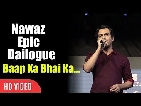Nawaz Epic Dialogue Baap ka Bhai Ka Sabka Badla Lega Tera Fazal | Umang Festival 2017