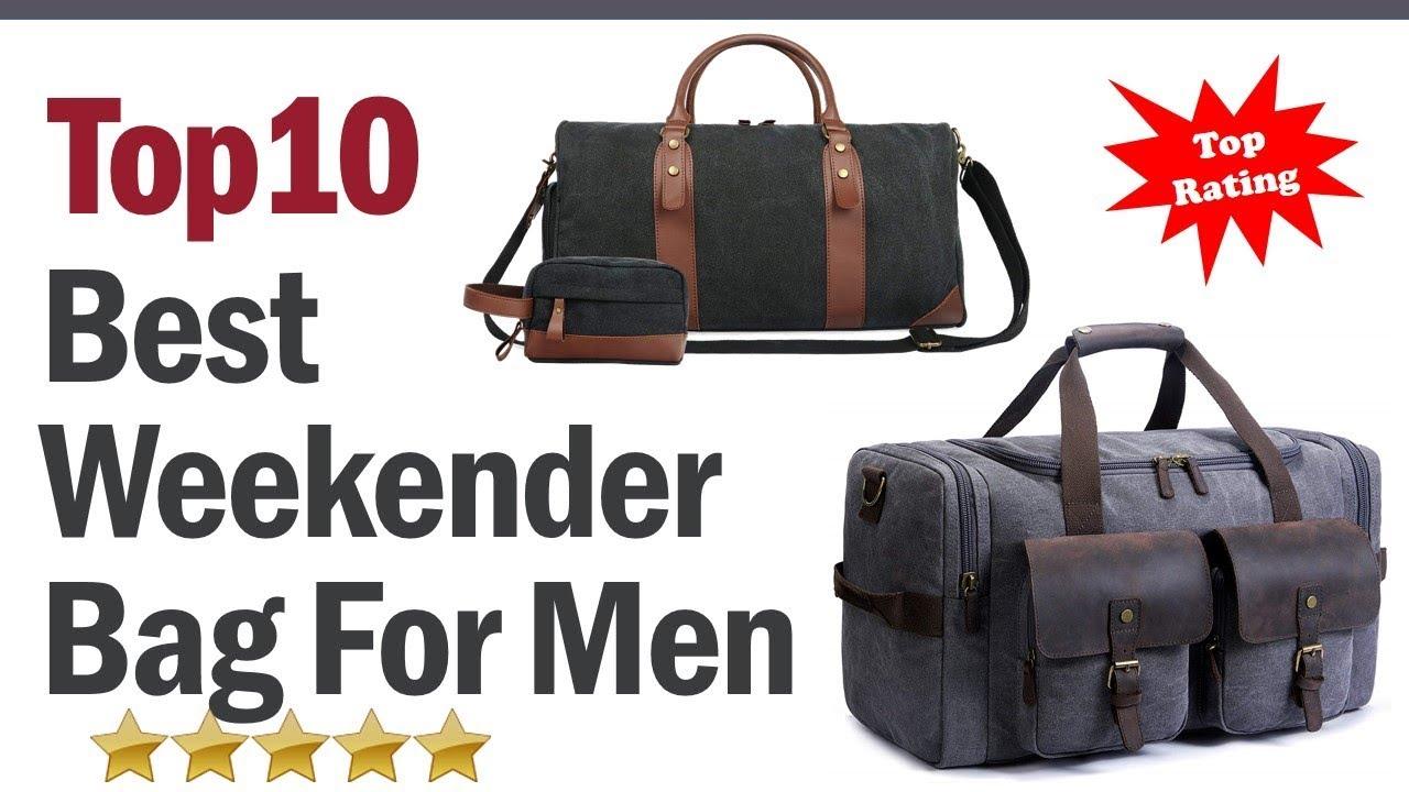 Best Weekender Bag For Men 2019   Top 10 Best Weekender Bag For Men ... ca8ab005ba5c2