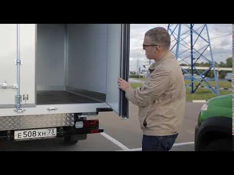 Uaz Usp изотермический фургон Social