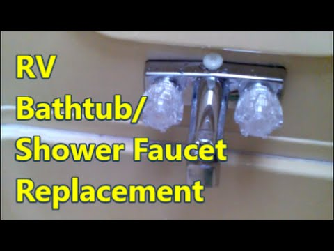 RV Shower Faucet Repair/Replacement - OMG! Friggin Finally!!! - YouTube