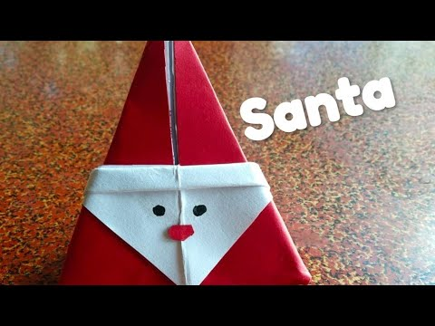 DIY Santa Claus From Paper | How to make Christmas Santa using Paper | DIY Paper Crafts