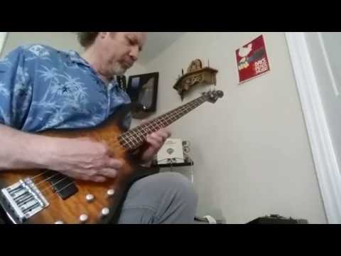 Bass solo - open tuning -  by Guitarist Steve Roberti