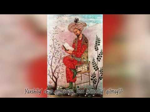 Zahiriddin Muhammad Bobur hikmatlari