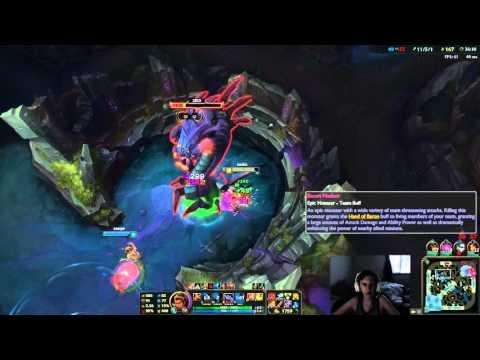 3 Earth dragons + Elder dragon doing baron