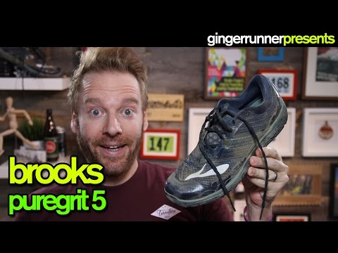 BROOKS PUREGRIT 5 REVIEW   The Ginger