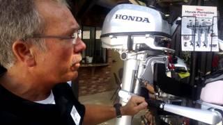 Honda Marine Vertikal Starter BF4.5 /& BF5 Aussenborder Schachtmontage
