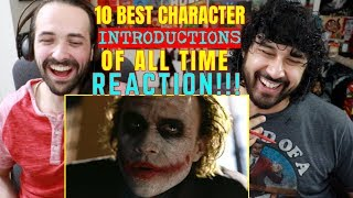 10 BEST CHARACTER INTRODUCTIONS of All Time - REACTION & ANALYSIS!!!