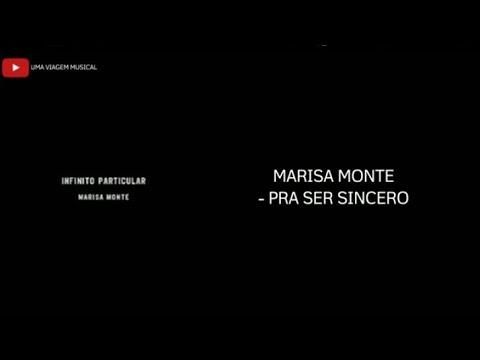 Marisa Monte - Pra Ser Sincero (Letra)ᴴᴰ