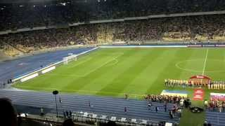 Ukraine - Slovakia Euro-2016 qualifier. Ukraine Anthem