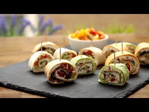 How to Make Party Pinwheels   Appetizer Recipes   Allrecipes.com