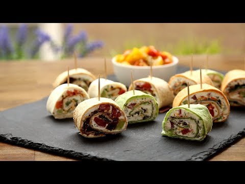 How To Make Party Pinwheels | Appetizer Recipes | Allrecipes.com