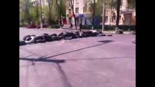 Мариуполь - Положение возле танка.(, 2014-05-10T11:23:44.000Z)