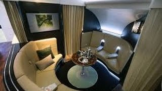 Top 10 Airlines - Etihad First Class (Apartments) - Sydney to Abu Dhabi (EY 455) - Airbus A380-800