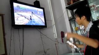 Chơi Devil May Cry 4 bằng Wii Remote
