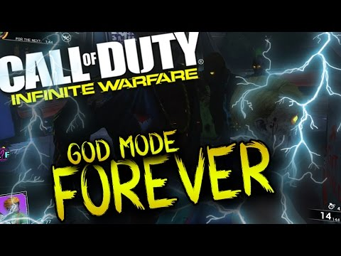 NEW! INFINITE WARFARE! EASIEST SOLO GOD MODE FOREVER SPACELAND ZOMBIES IW GLITCHES