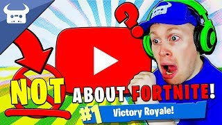 NOT ABOUT FORTNITE! (YouTube diss track)