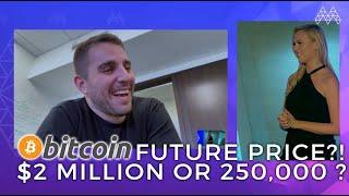 BITCOIN PRICE PREDICTION $250,000!!! - ANTHONY POMPLIANO | AIBC Summit