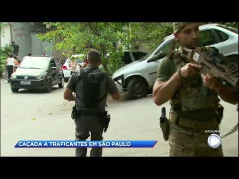 Operação policial caça traficantes em São Paulo