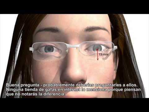 bf7670dc4d Cómo ajustar gafas progresivas correctamente - Importante para las gafas  compradas en internet - YouTube