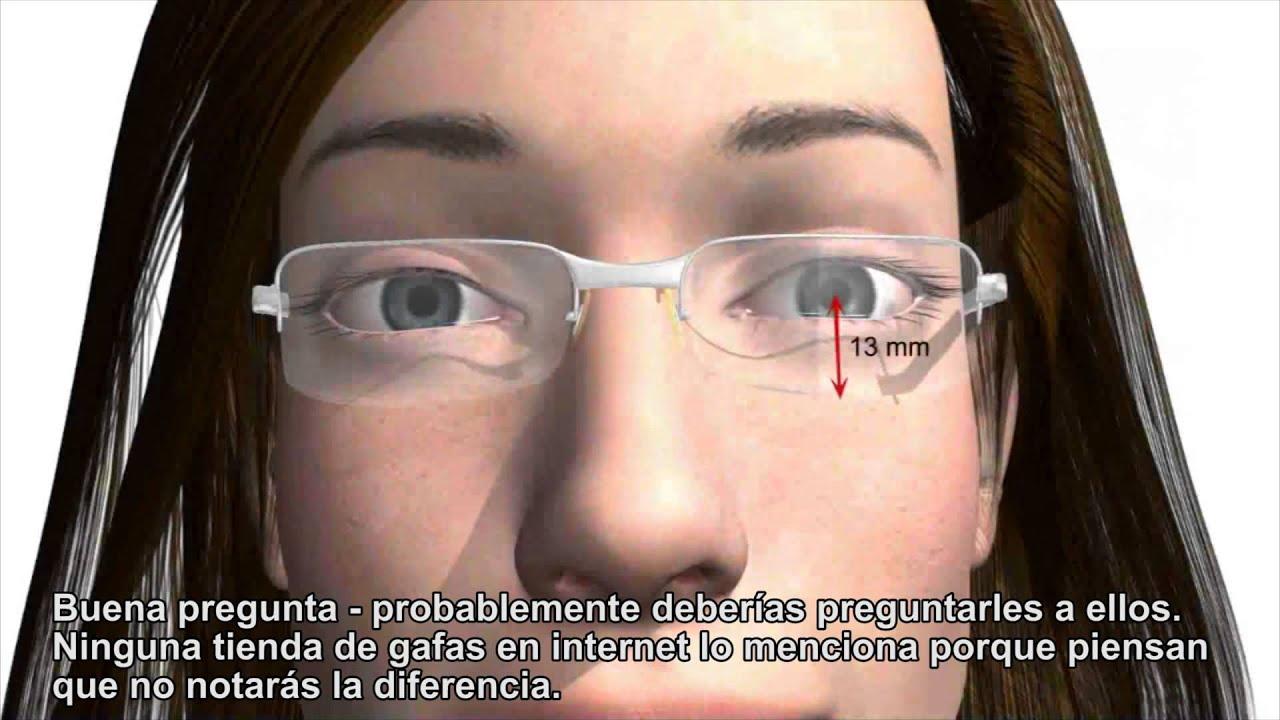 Cómo ajustar gafas progresivas correctamente - Importante para las ...