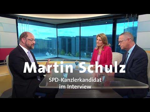 SPD-Kanzlerkandidat Martin Schulz im Interview