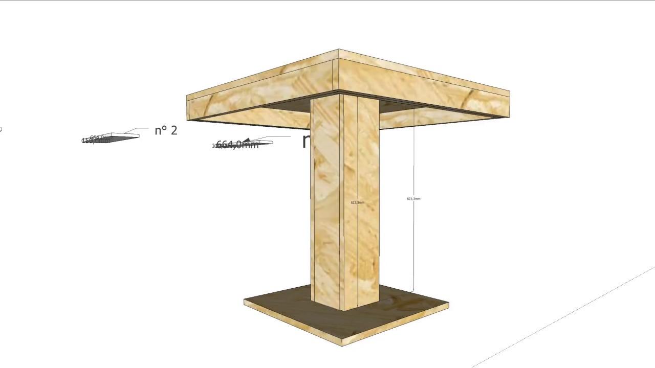 Pannelli Di Legno Osb tavolo osb - youtube