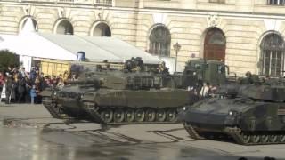 Panzer und Fahrzeugvorführung Österreichisches Bundesheer