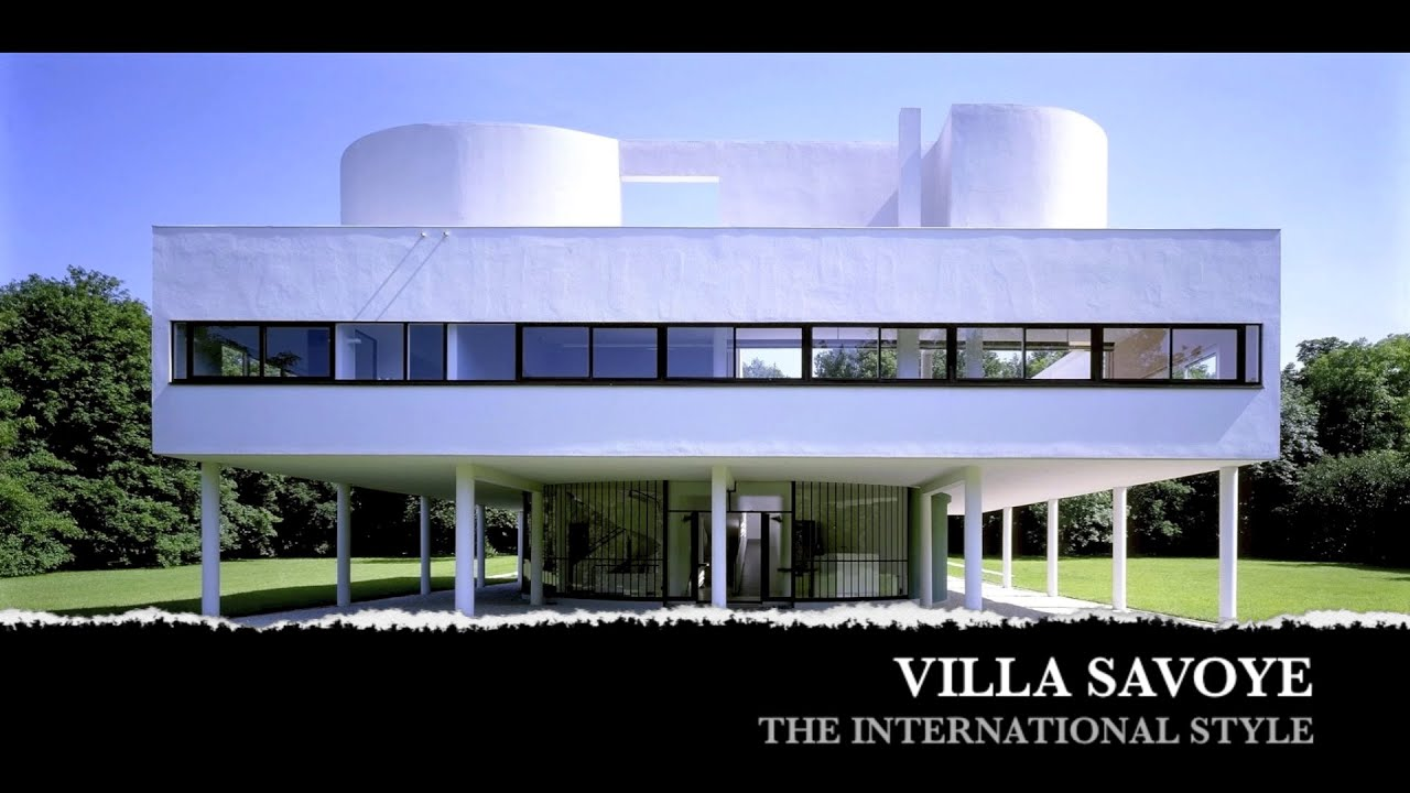 the international style villa savoye youtube