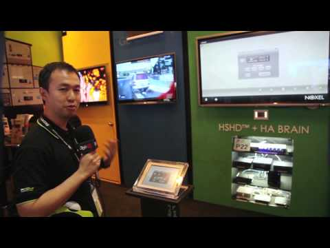 Smart Home Automation Solution By Pcom & Noxel Asia at Archidex Exhibition