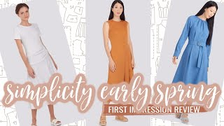 Simplicity Sewing Patterns  |  Early Spring 2021  |  First Impression
