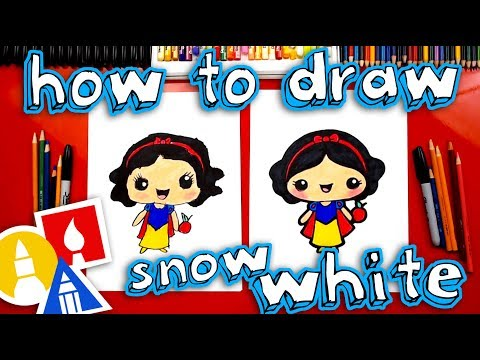 How To Draw Cute Snow White Kawaii