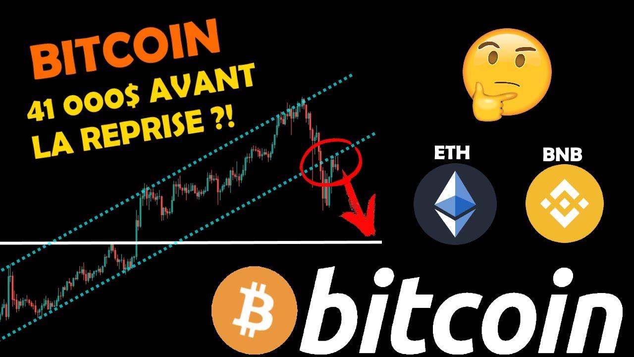 BITCOIN 😰 DIRECTION 41k AVANT REPRISE?! ETHEREUM 🤔 REBOND ?! BNB 🚀 PRÊT ?! analyse crypto monnaie fr