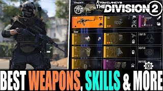 The Division 2 - BEST WEAPONS, SKILLS, GEAR & MORE | PVE TIPS & TRICKS