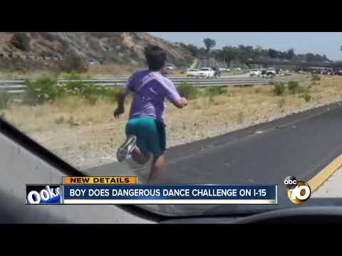 Police Investigate After Boy Attempts #InMyFeelingsChallenge On I-15 Fwy