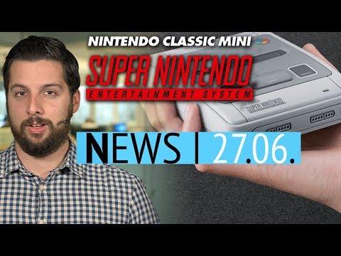 Nintendo SNES Mini angekündigt - Star Citizen-Entwickler nehmen Kredit auf - News