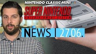 Nintendo SNES Mini angekündigt - Star Citizen-Entwickler nehmen Kredit auf - News thumbnail