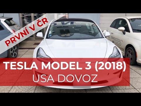 #32 První Tesla Model 3 v ČR (USA verze) | Teslacek