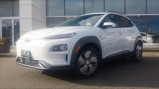 2019 Kona EV Feature Review! (Mertin Hyundai, Chilliwack BC Canada)