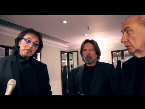 Tony Iommi, Bill Ward, Geezer Butler at The Ivor Novello Awards 2015