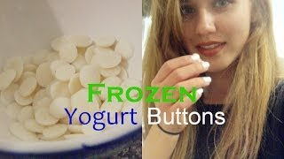 Frozen Yogurt Buttons | DIY Snacks Thumbnail