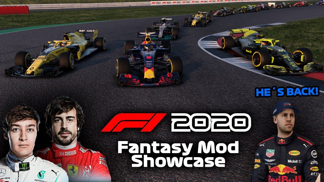 Best Mod 2020.F1 2020 Fantasy Mod Showcase F1 2018 Friday Skins Mods 28