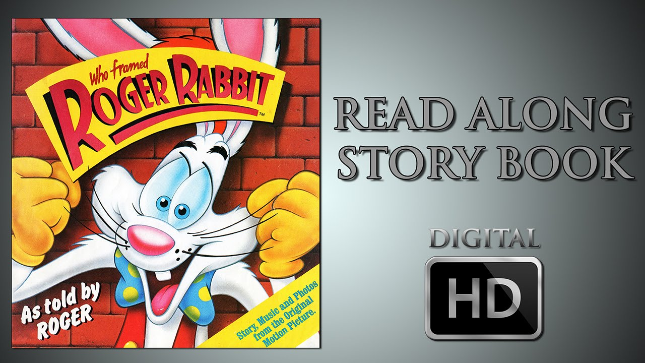 Who framed Roger Rabbit - Read Along Story book - As read by Charles ...