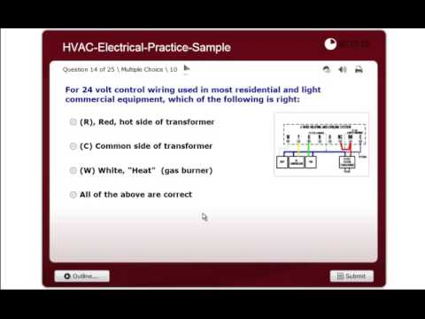 electrical practice exam nate ice hvac certification youtube rh youtube com Electrical Wiring Help Basic Electrical Wiring Diagrams
