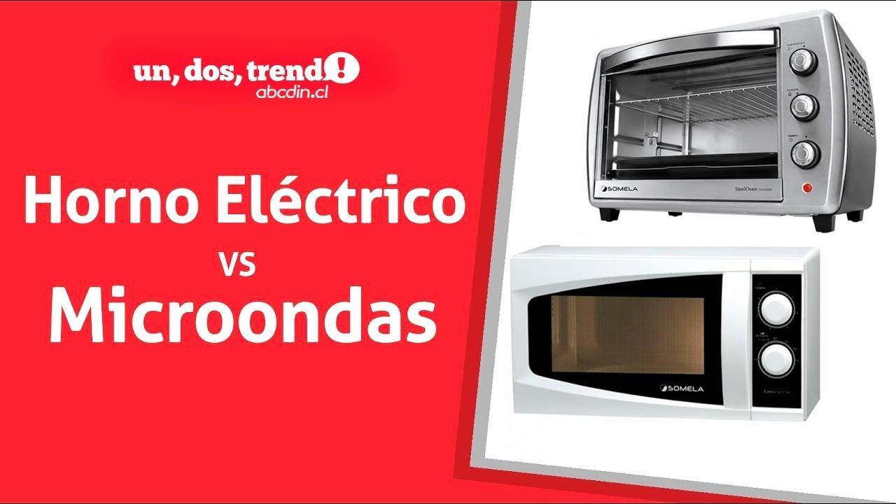 Horno el ctrico o microondas youtube for Ofertas de hornos electricos